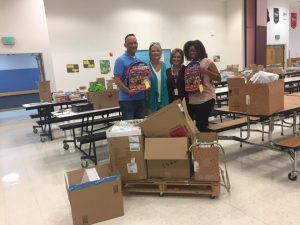 Thelma Parks School Supply Drive